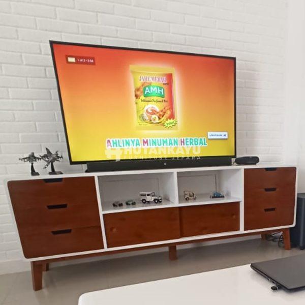 Meja TV Minimalis Retro Klasik Big Size