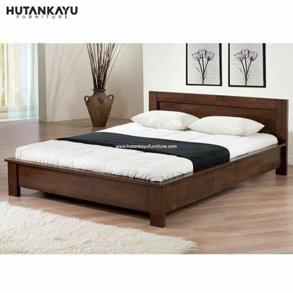 Tempat Tidur Dipan Minimalis Klasik Hutankayu Furniture Mebel Jati Jepara 01