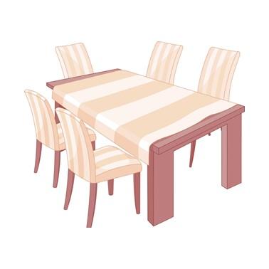 Meja Makan Hutankayu Furniture