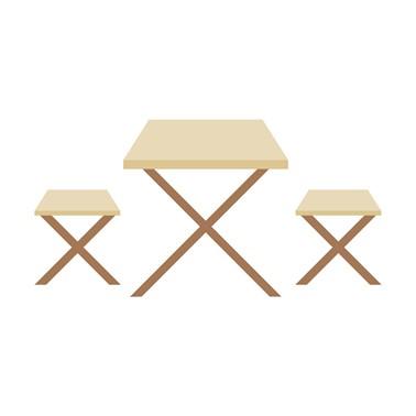 Meja Makan Outdoor Hutankayu Furniture