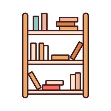 Rak Buku Hutankayu Furniture